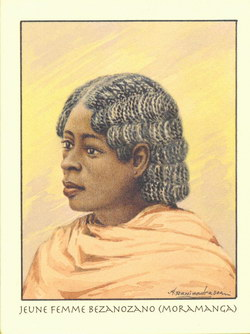 Jeune Femme Bezanozano (Moramanga)