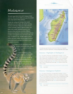 Madagascar: from the The Ultimate Travel Company 2004 Brochure