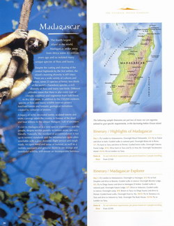 Madagascar: from the The Ultimate Travel Company 2007 Brochure