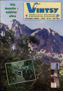 Vintsy: Trimestriel Malgache d'Orientation Ecologique: No. 29
