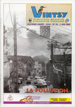 Vintsy: Trimestriel Malgache d'Orientation Ecologique: No. 32: La Pollution