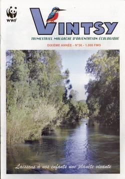 Vintsy: Trimestriel Malgache d'Orientation Ecologique: No. 36: Laissons à nos enfants une planète vivante