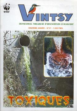 Vintsy: Trimestriel Malgache d'Orientation Ecologique: No. 37