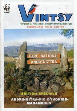 Vintsy: Trimestriel Malgache d'Orientation Ecologique: No. 38-39: Édition Spéciale: Andringitra - Pic d'Ivohibe - Manambolo