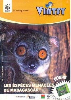 Vintsy: Bimestriel Malgache d'Orientation Ecologique: No. 64: Les Esp?ces Menacées de Madagascar