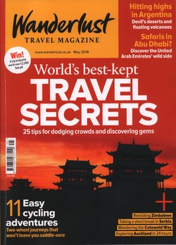 Wanderlust: Issue 186: May 2018