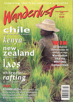 Wanderlust: Issue 29: August/September 1998