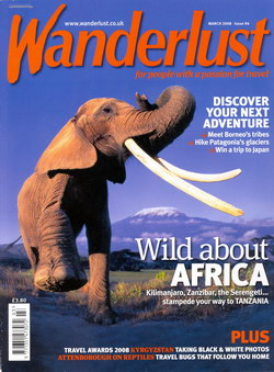 Wanderlust: Issue 94: March 2008