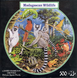 Madagascan Wildlife: A James Hamilton Grovely DeLuxe Jigsaw Puzzle
