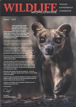 Wildlife Worldwide: Autumn 2014