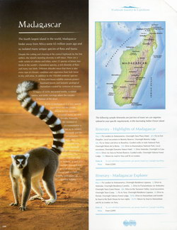 Madagascar: from the Worldwide Journeys & Expeditions 2002 Brochure