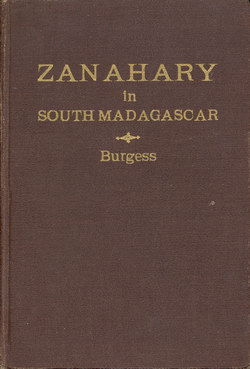 Zanahary in South Madagascar