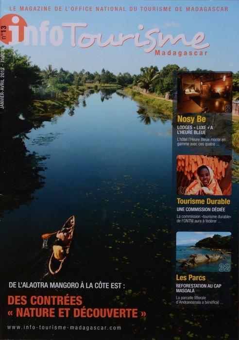 Info tourisme madagascar no 13 janvier avril 2012 madagascar library - Office national du tourisme madagascar ...