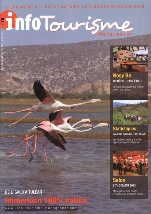 Info tourisme madagascar no 16 janvier avril 2013 madagascar library - Office national du tourisme madagascar ...