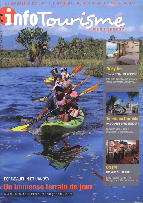 Info tourisme madagascar no 19 janvier avril 2014 madagascar library - Office national du tourisme madagascar ...