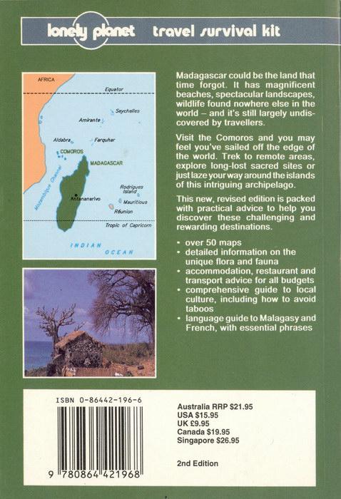 Madagascar & Comoros: A Travel Survival Kit 0864421966