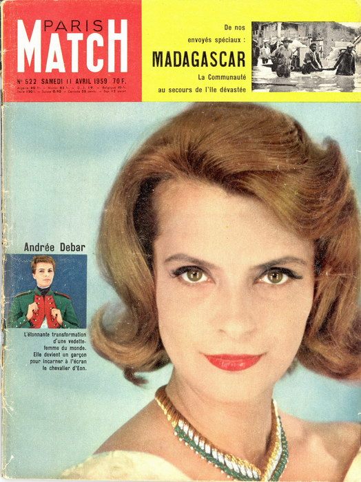 PARIS MATCH: No. 522, Samedi 11 Avril 1959 - Madagascar Library