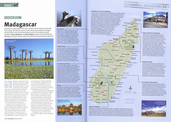 Travel Africa: Edition 44; Autumn 2008 - Madagascar Library